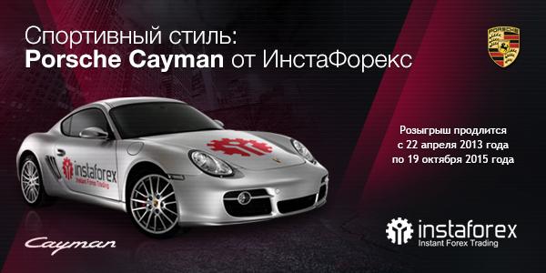 """Конкурс от Instaforex """"Спортивный стиль: Porsche Cayman"""""""
