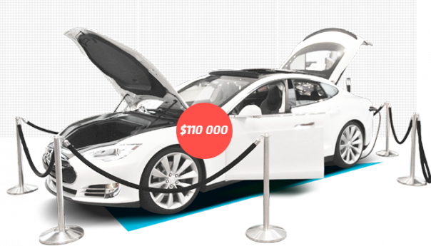 Выиграй суперкар Tesla от Roboforex
