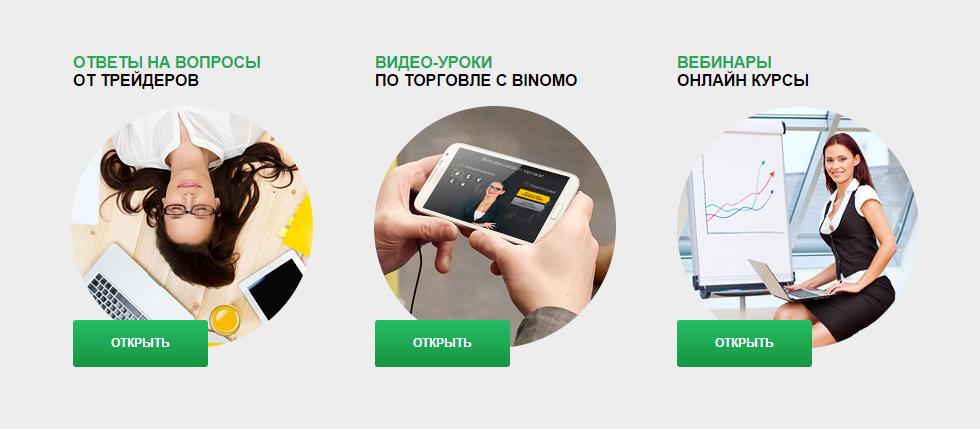 Компания Binomo2