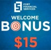 Welcome Bonus 15 USD от FortFS