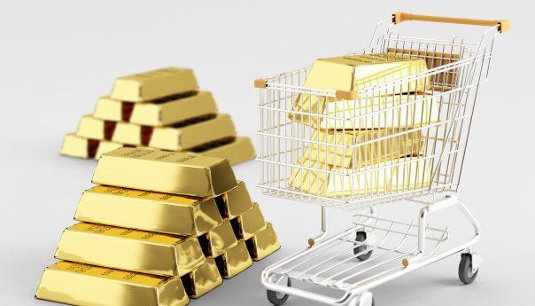 Торговля золотом на рынке Форекс